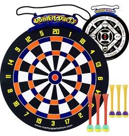 Marky Sparky Doinkit Darts Double-Sided Roll-Up Dart Board