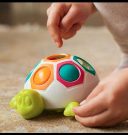 Fat Brain Toys Baby Pop N Slide Shelly