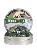 "Crazy Aaron Putty Crazy Aaron's Thinking Putty - Illusion - Super Fly 2"" Mini Tin"
