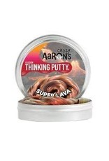 Crazy Aaron Putty Crazy Aaron's Thinking Putty - Illusion - Super Lava Mini Tin