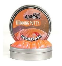 Crazy Aaron Putty Crazy Aaron's Thinking Putty - Electric - Neon Flash Mini Tin