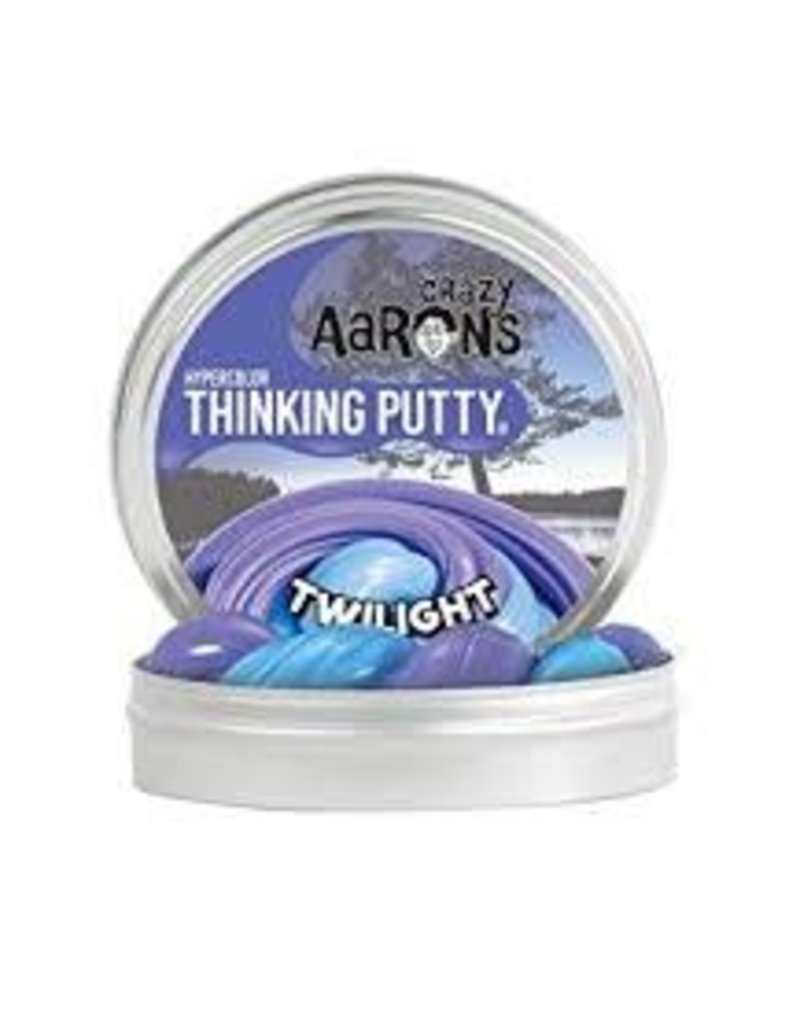 Crazy Aaron Putty Crazy Aaron's Thinking Putty - Hypercolor - Twilight Mini Tin