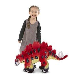 Melissa & Doug Plush Dinosaur Stegosaurus