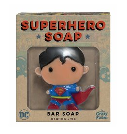 Crazy Foam Superhero Bar Soap Superman