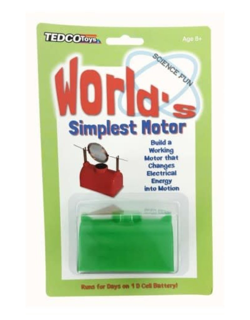 Tedco Toys World's Simplest Motor