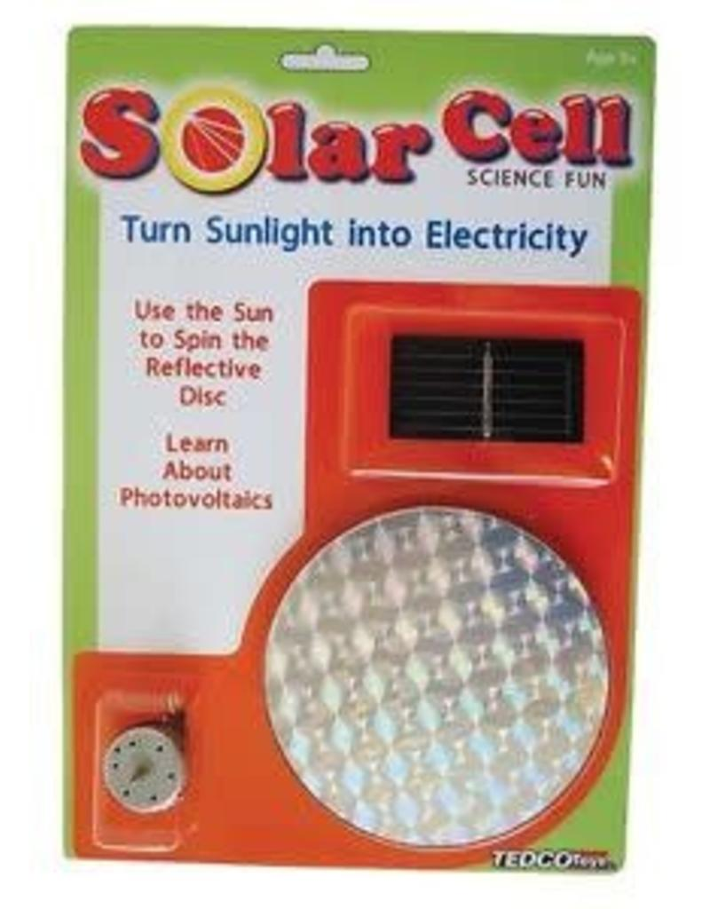 Tedco Toys Solar Cell (Turn Sunlight into Electricity)
