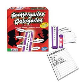 Winning Moves Game - Scattergories Categories