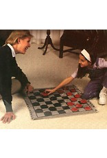 Channel Craft Jumbo Checkers Rug Game