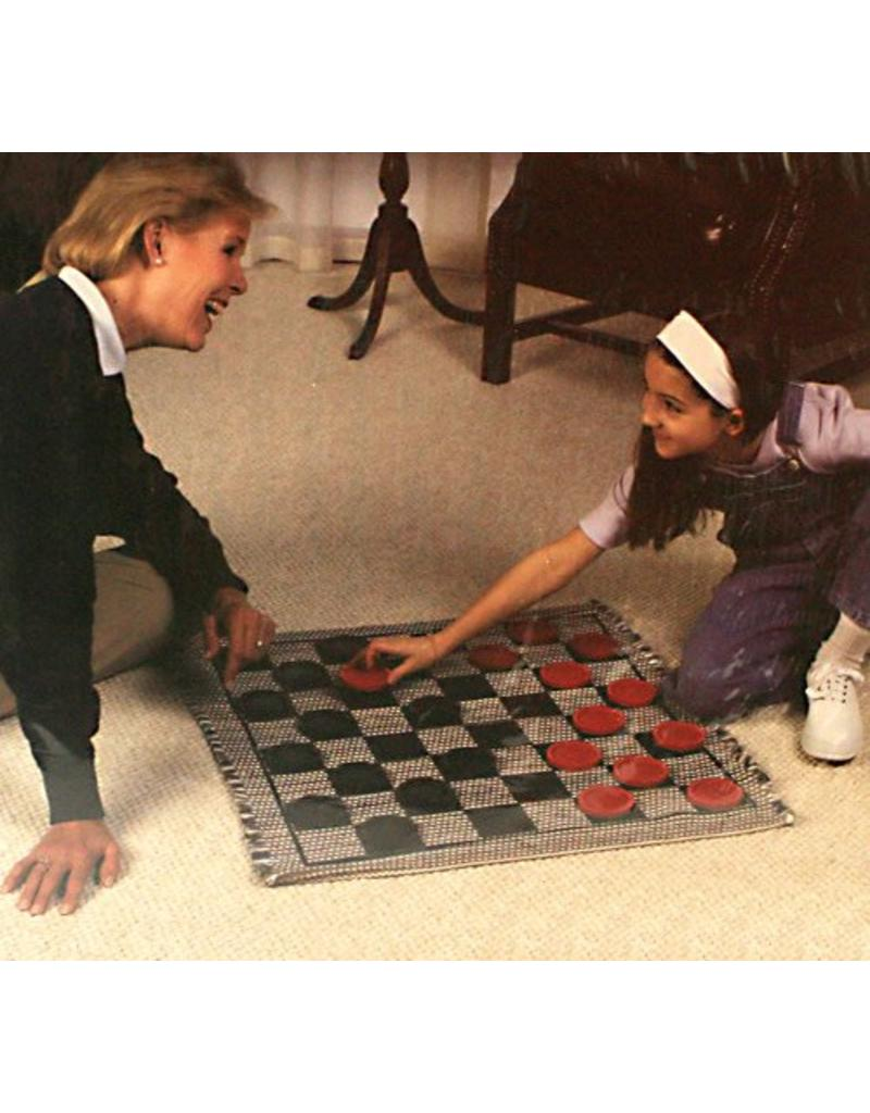 Channel Craft Game Rug - Jumbo Checkers