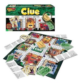 Winning Moves Game - Clue Classic Edition