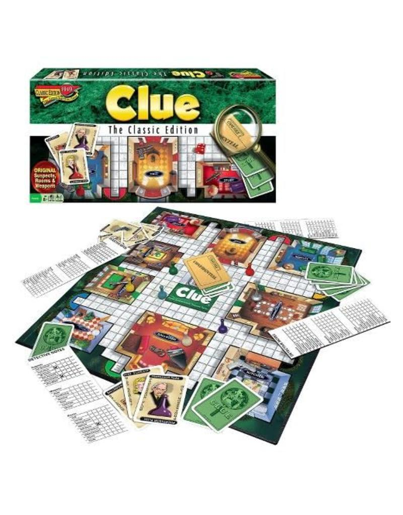 Winning Moves Clue - Classic Edition