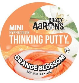 Crazy Aaron Putty Crazy Aaron's Thinking Putty - Hypercolor - Orange Blossom Mini Tin