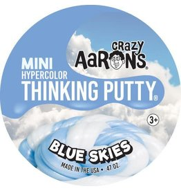 Crazy Aaron Putty Crazy Aaron's Thinking Putty - Hypercolor - Blue Skies Mini Tin