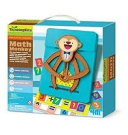 Toysmith Math Monkey Learning Kit