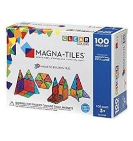 Valtech Co Magna-Tiles Clear Colors 100 pc. Set