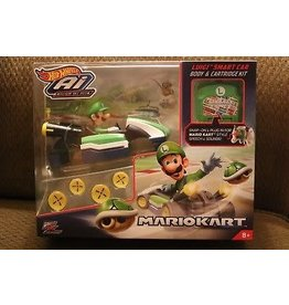 Hot Wheels Hot Wheels AI Body & Cartridge Accessory Kit - Luigi Smart Car