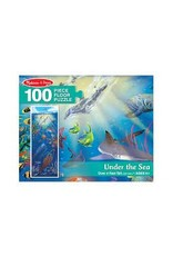 Melissa & Doug Under the Sea Floor Puzzle
