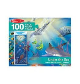 Melissa & Doug Floor Puzzle - Under the Sea - 100 Piece
