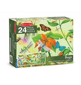 Melissa & Doug Floor Puzzle - Bugs - 24 Piece