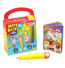 Learning Resources Hot Dots Jr. Highlights On-The-Go! Learn My Abc's With Highlights