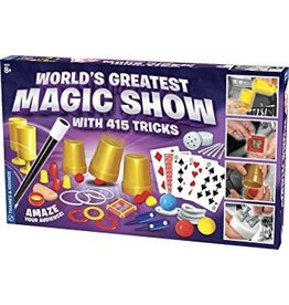 Thames & Kosmos World's Greatest Magic Show (415 Tricks)