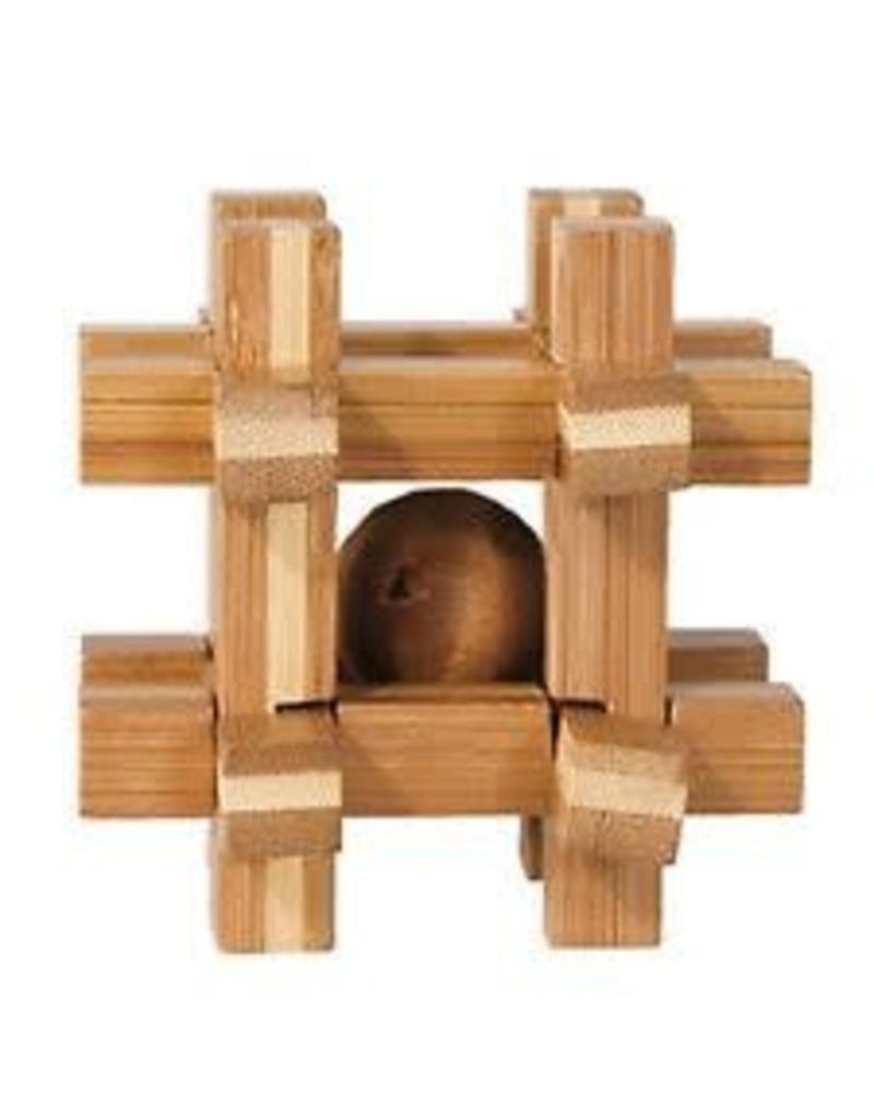 Fridolin IQ Test Bamboo Puzzle - Gridbox