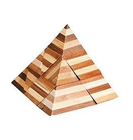 Fridolin IQ Test Bamboo Puzzle - Pyramid