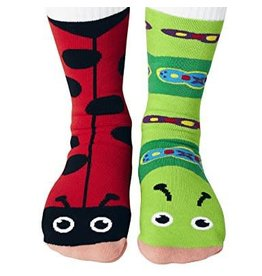 Pals Socks Pals Socks - 1-3 Years - Ladybug & Caterpillar Socks