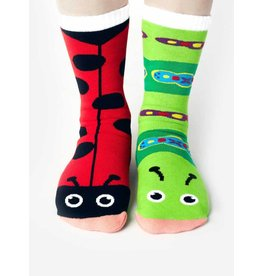 Pals Socks Pals Socks - 4-8 Years - Ladybug & Caterpillar