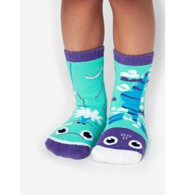 Pals Socks Pals Socks - 4-8 Years - Dolphin & Fish