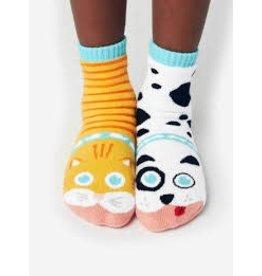 Pals Socks Pals Socks - 1-3 Years - Cat & Dog