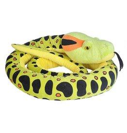 "Wild Republic Plush Jumbo Snake - Anaconda - 113"""