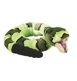 "Wild Republic Green Rock Plush Rattlesnake (54"")"