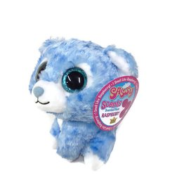 Wild Republic Sassy Scents Plush Snow Leopard Raspberry