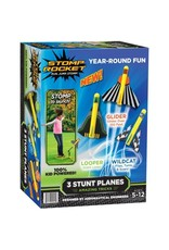 D&L Company LLC Stomp Rocket - 3 Stunt Planes