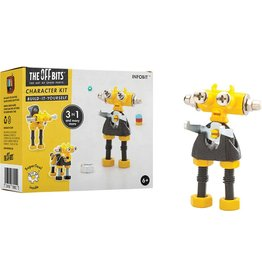 Fat Brain Toys The Offbits - Infobit - Yellow
