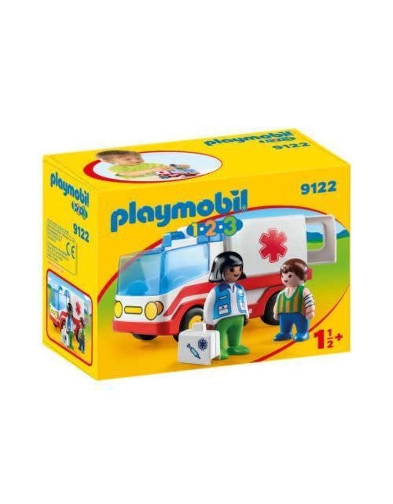 Playmobil Playmobil 123 Rescue Ambulance