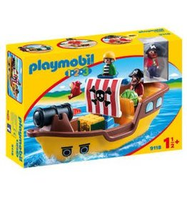 Playmobil Playmobil 123 Pirate Ship