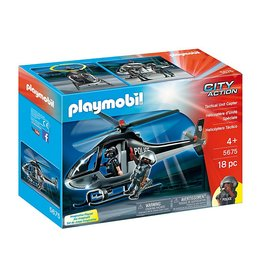 Playmobil Playmobil  City Action - Tactical Unit Copter