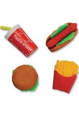 Schylling Toys Erasers - Fast Food
