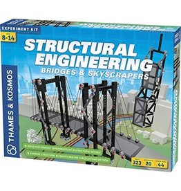 Thames & Kosmos Science Kit Structural Engineering (Bridges and Skyscrapers)