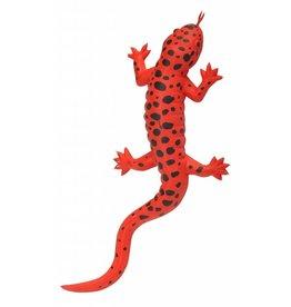 Wild Republic Rubber Salamander Red Md