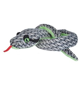 "Wild Republic Plush Grey Knotted Snake (54"")"