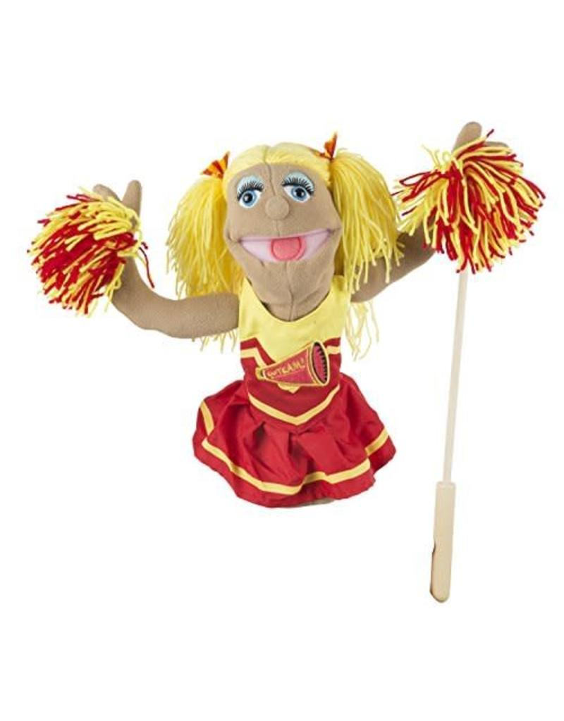 Melissa & Doug Puppet - Cheerleader