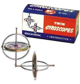 Tedco Toys Scientific Gadget Twin Gyroscopes