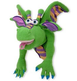 Melissa & Doug Puppet - Dragon ( Smoulder)