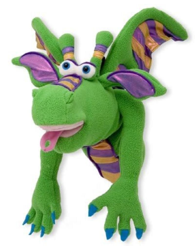 Melissa & Doug Puppet - Dragon (Smoulder)