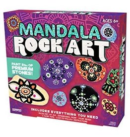 Horizon USA Craft Kit Mandala Rock Art