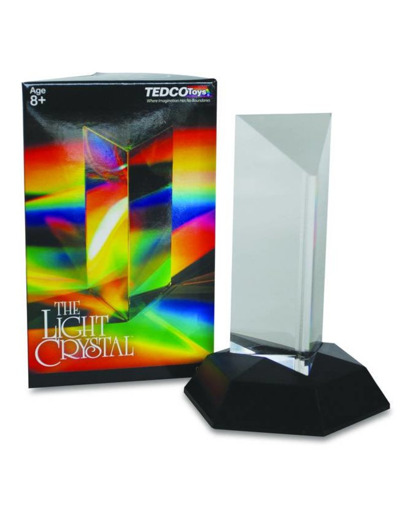 """Tedco Toys Light Crystal Prism (4.5"""")"""