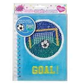3 Cheers for Girls Sequin Journal - Goal!